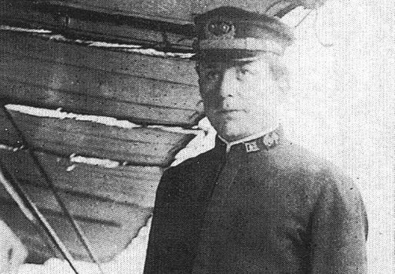 Capitão George W. Worley, comandante do USS Cyclops