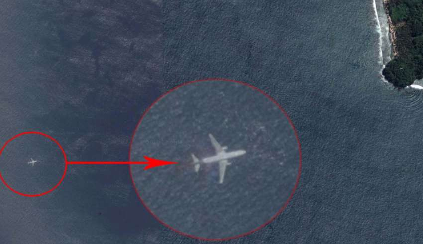 Encontraram MH370 da Malaysia Airlines no Google Maps