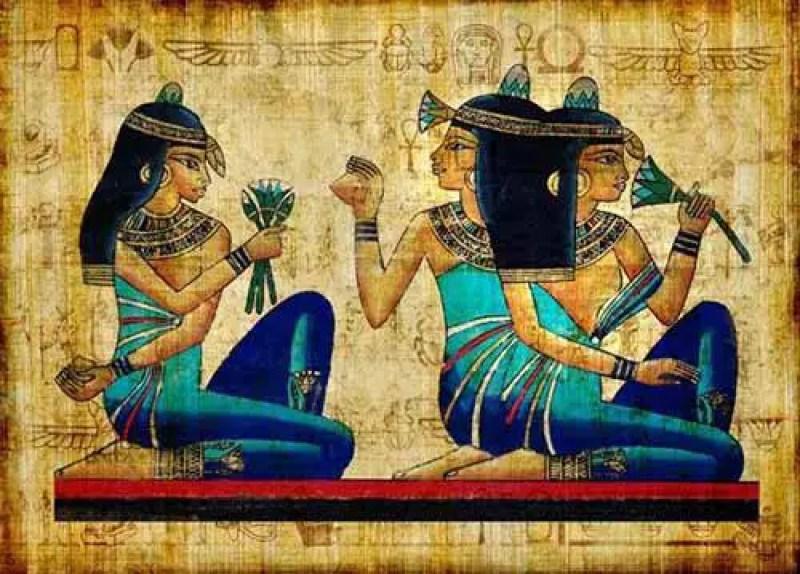 O azul egípcio é considerado o primeiro pigmento sintético