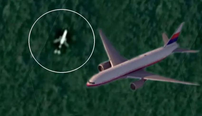 Google Maps confirma que o avião MH370 desaparecido caiu mesmo na selva do Camboja