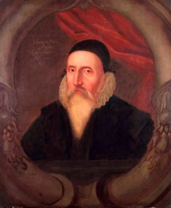 Retrato de John Dee