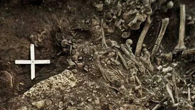 antiga evidencia da peste negra