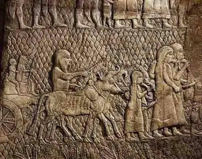 Arca guardada no Templo de Salomão