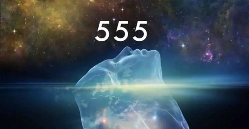 veja o numero 555 em todos os lugares