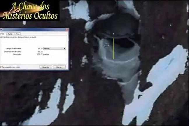 A misteriosa anomalia detectada sob o gelo na Antártida