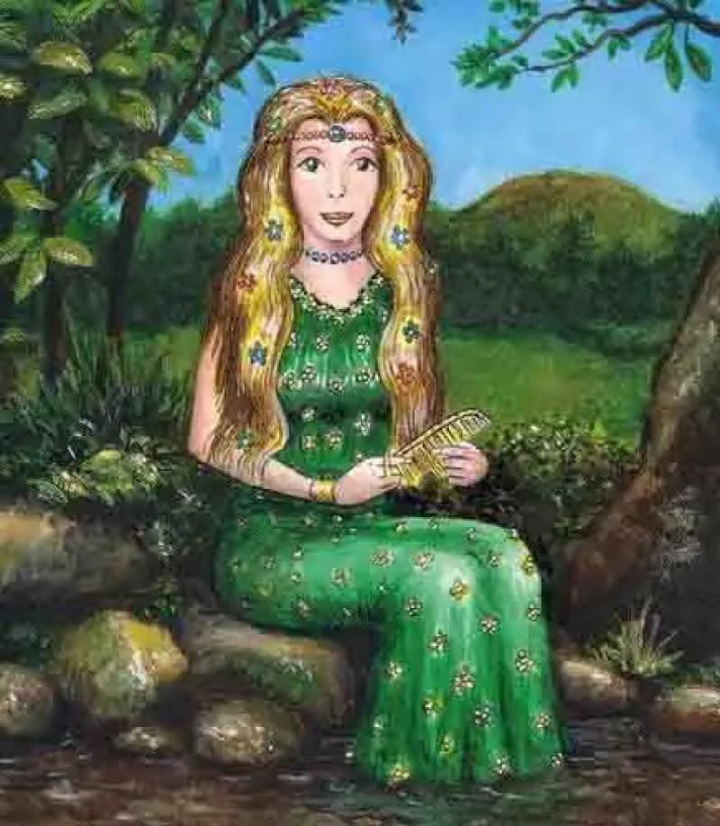 As Xanas na mitologia asturiana