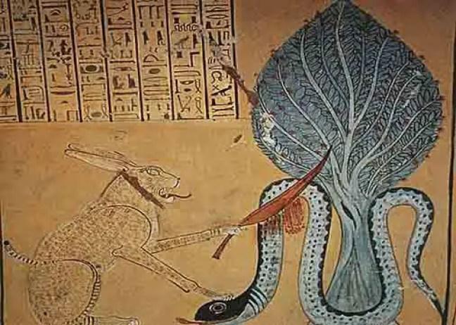 Apophis simboliza o caos tenebroso e mortal