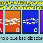 Teste de personalidade: Qual é o nó mais forte?