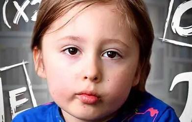 o caso de uma pequena criança de cinco anos que levou os melhores neurocientistas a declarar que a telepatia existe