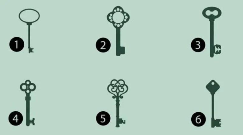 Escolha uma chave e veja o que seu subconsciente revela sobre sua personalidade