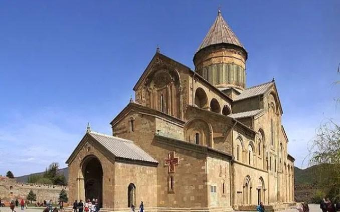 Catedral da cidade de Mtskheta