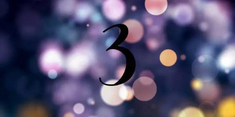 significado de 3