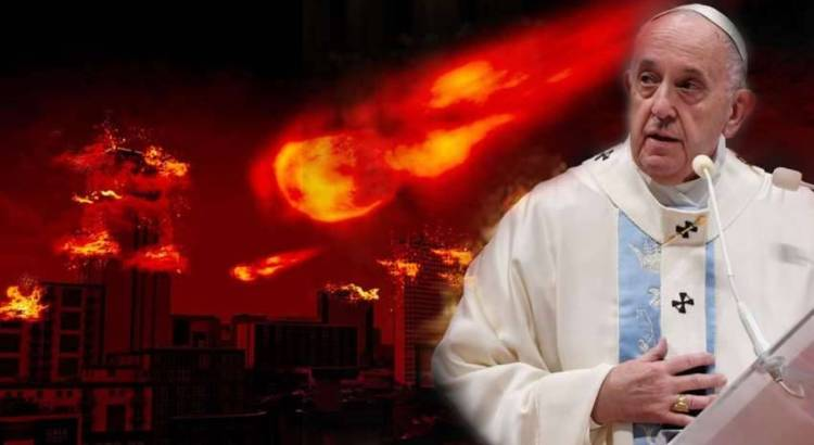 Fim mundial do Papa Francisco - A profecia do fim do mundo prestes a ser cumprida