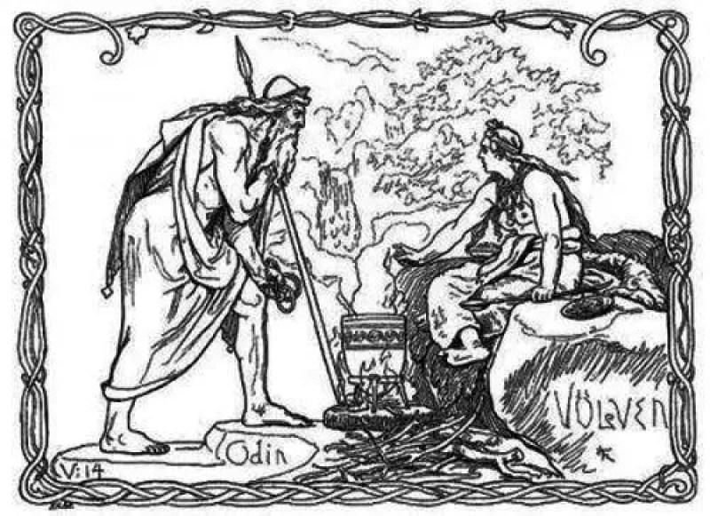 Odin desafia Vafthrunthnir