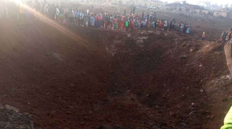 Asteroide atinge a Nigéria e causa enorme cratera