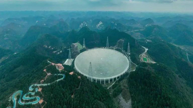 O maior radiotelescópio do mundo