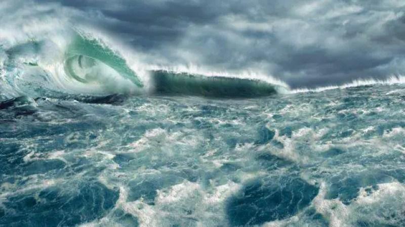 Aumento acentuado do nível do mar