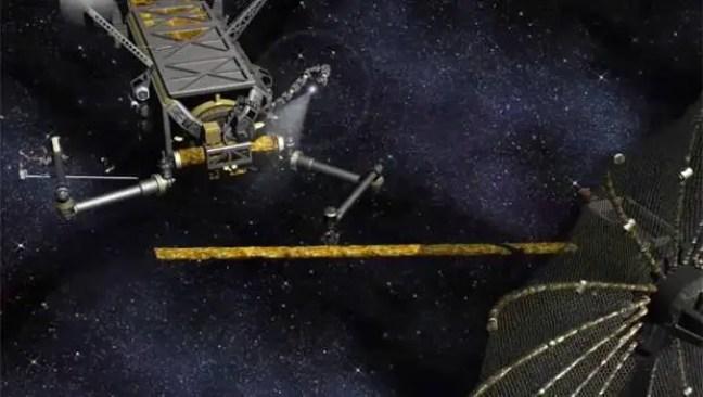 Dois satélites mortos com alto risco de colisão desastre no espaço