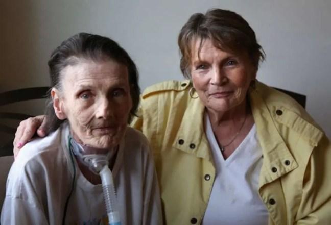 Sue Ellen e Raeann se encontram novamente