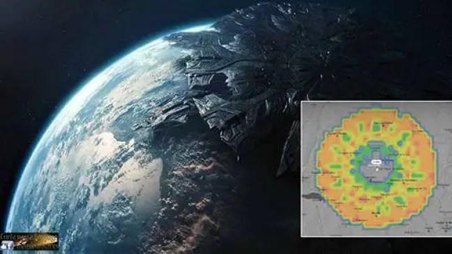 Uma enorme anomalia aparece no radar sobre o México