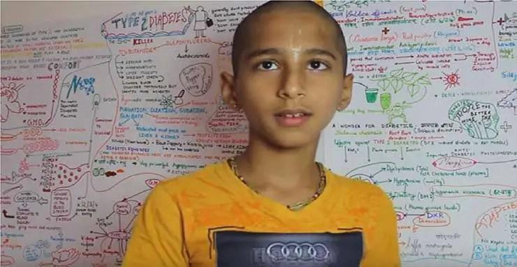 O menino indiano que previu o coronavírus, alerta sobre uma grande catástrofe em fevereiro