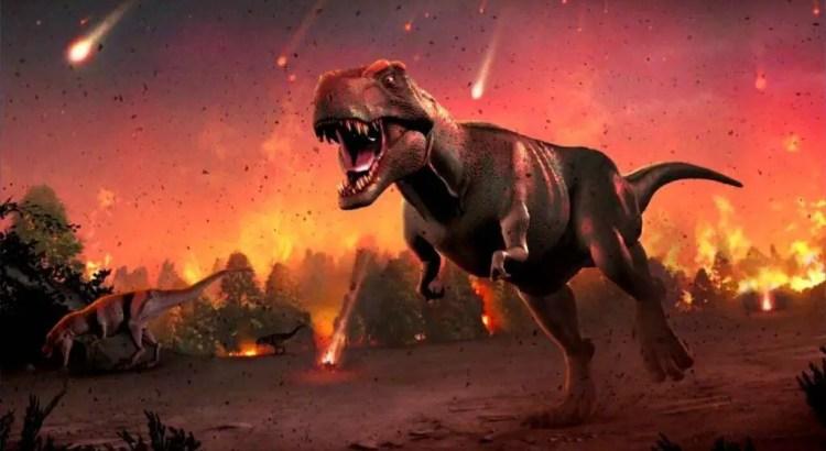 Asteroide que acabou com os dinossauros enviou seus ossos para a lua