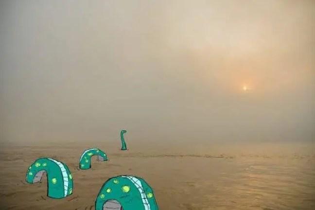 Cientista afirma que o monstro de Loch Ness é na verdade uma antiga tartaruga marinha