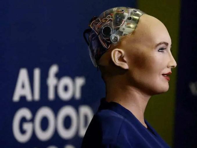 Sophia, a androide que quer destruir a humanidade.
