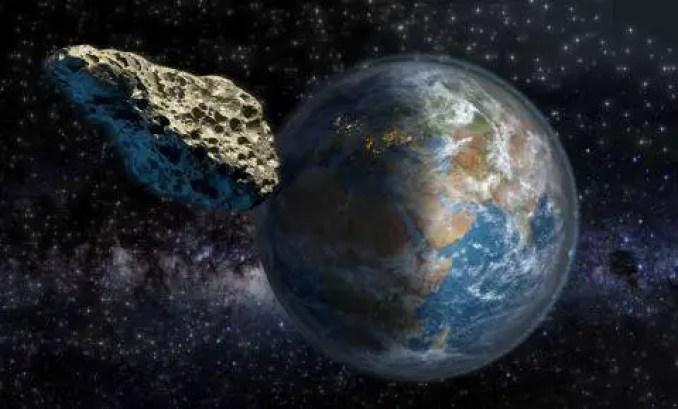 Um asteroide de 10 quilômetros de diâmetro é tão grande que seria muito difícil detê-lo.