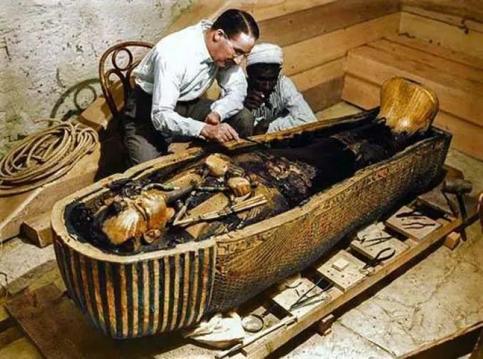 Antiga tumba de faraó que, na verdade, ainda estava intacta