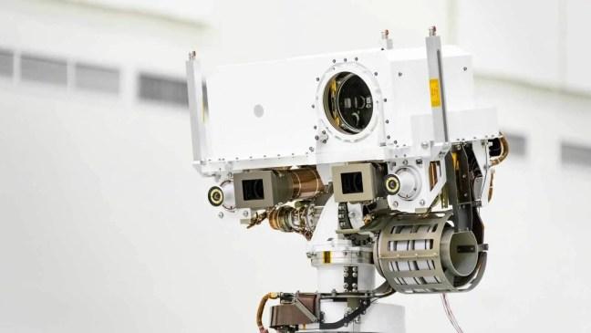 SuperCam é um conjunto de instrumentos de sensoriamento remoto para a missão Mars 2021