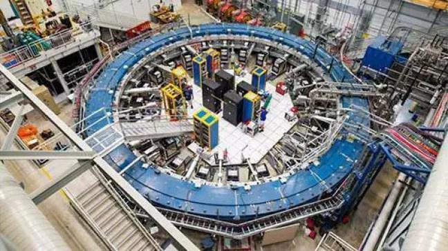 As descobertas vêm do experimento US Muon g-2.