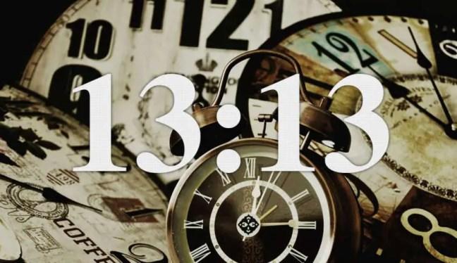13:13 em todos os lugares descubra seu significado