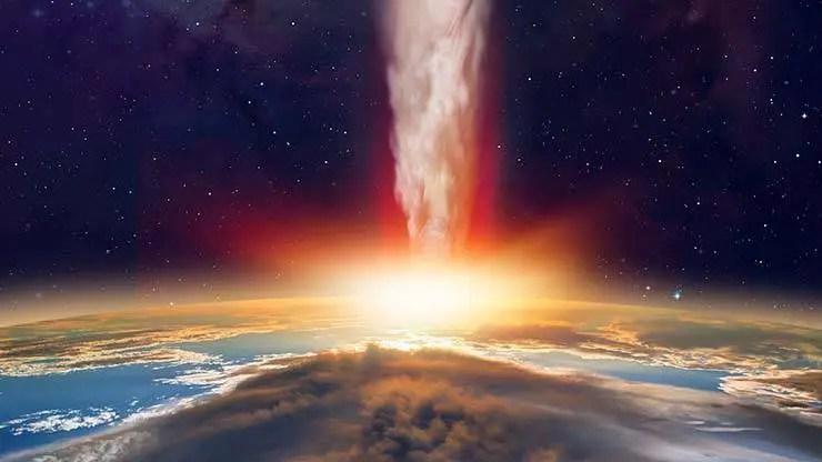 O cometa pode ter de 10 a 100 quilômetros de largura.