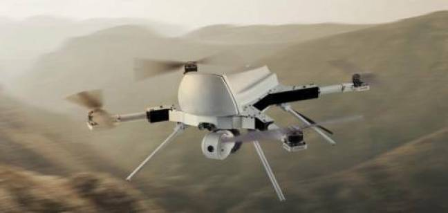 """O drone, que o relatório chama de """"arma autônoma letal"""", então encontrou e atacou as Forças Armadas Haftar da Líbia."""