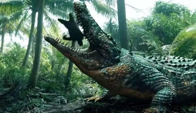 Um enorme crocodilo que comeu 300 pessoas está à solta na África.