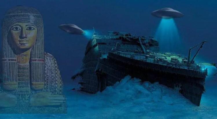 """Conheça as estranhas versões de que o """"Titanic"""" foi afundado"""