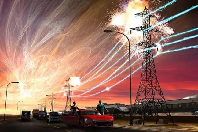 Você pode imaginar o que aconteceria se o mundo ficasse sem todos os recursos úteis da civilização?
