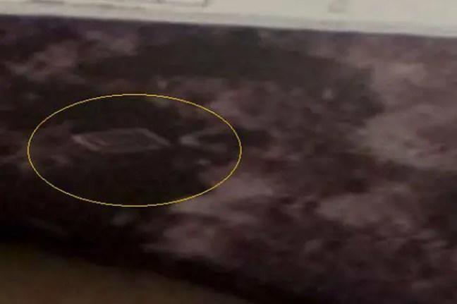 Imagem de estrutura capturada na lua pela sonda LCROSS