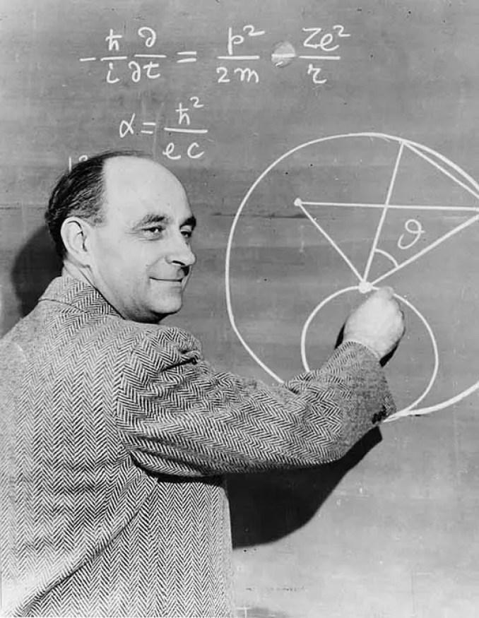 Enrico Fermi. (Smithsonian Institution)