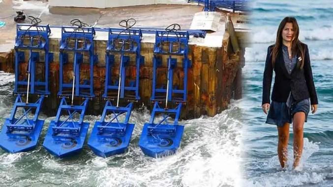 Jovem inventora desenvolve mecanismo que gera energia a partir das ondas do mar