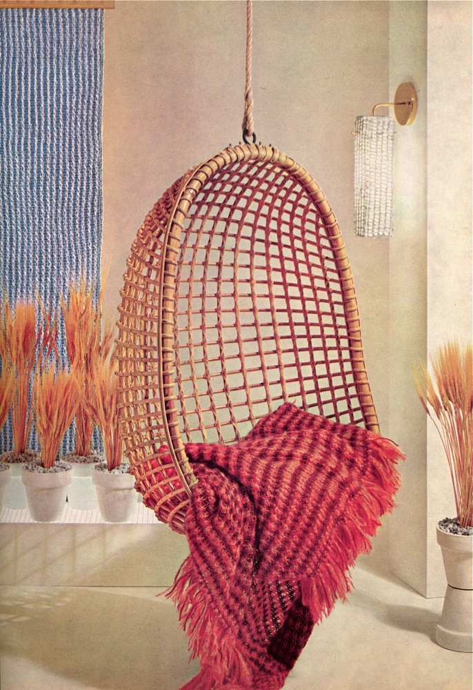 Vintage Knits 1960s Home Decor The Chawed Rosin