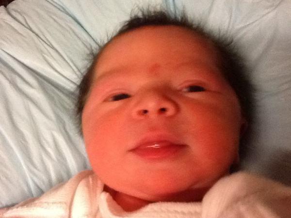 newborn baby in baltimore maryland