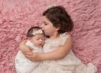 newborn and big sister