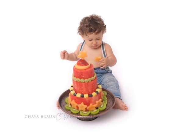 watermelon birthday cake