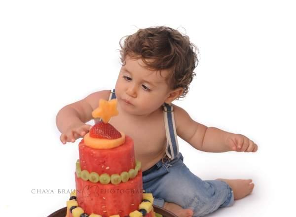 fruit cake smash