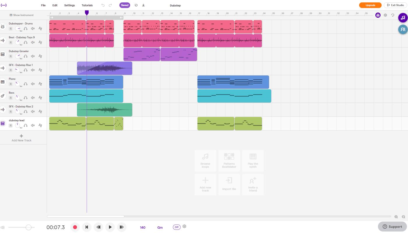 Soundtrap Screenshot