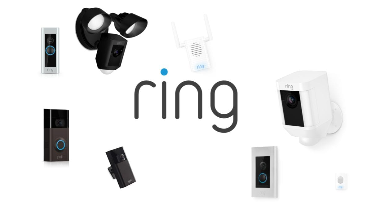 A ton of Ring Devices