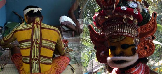 sree muthappan theyyam