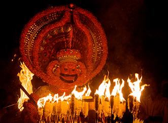 Kathivanoor Veeran Theyyam Eripuram കതിവനൂർ വീരൻ തെയ്യം, മന്ദപ്പൻ